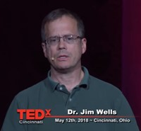 Congratulations to Jim Wells on his presentation on TEDx Talks on May 12th, 2018